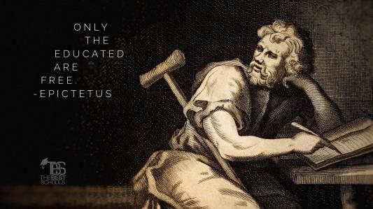 epictetus-educated-are-free